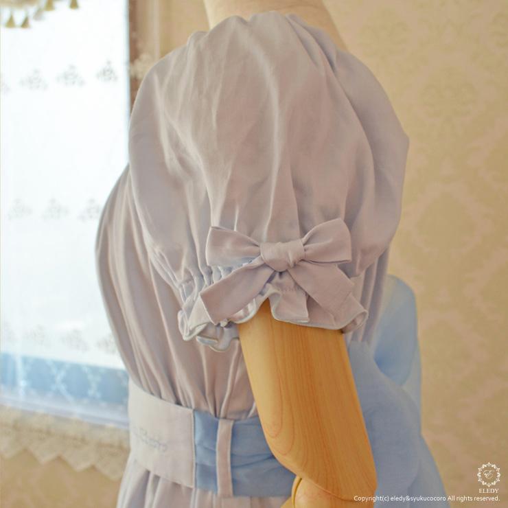 ネグリジェ プリンセス マリー/ライトブルー 綿100%